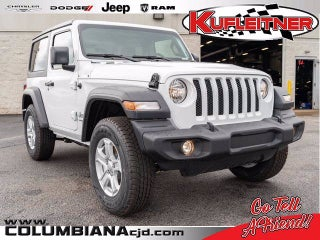 2020 Jeep Wrangler Unlimited Willys 4x4 Columbiana Oh
